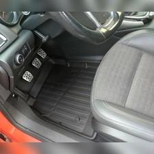 Коврики резиновые в салон Opel Astra J седан 5 дверей, 2009 - 2015 3D PREMIUM (комплект)