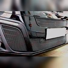 Защита радиатора боковая Opel Zafira Life 2019-н.в. стандартная черная