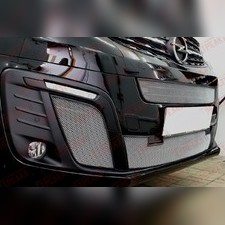 Защита радиатора боковая Opel Zafira Life 2019-н.в. стандартная хром