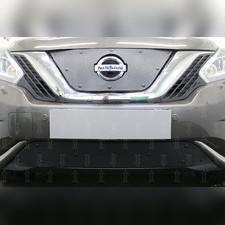 Защита радиатора нижняя Nissan Murano Z52 2014-н.в. PREMIUM зимний пакет