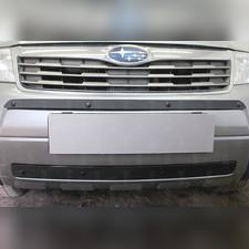 Защита радиатора средняя Subaru Forester III 2008-2011 PREMIUM зимний пакет