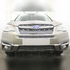 Защита радиатора средняя Subaru Forester 2016-н.в. PREMIUM зимний пакет