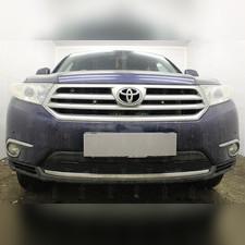 Защита радиатора Toyota HIGHLANDER U40 2010-2013 PREMIUM зимний пакет