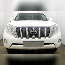 Защита радиатора верхняя Toyota Land Cruiser Prado 150 2013-2017 PREMIUM зимний пакет