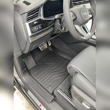 "Ковры салона Audi Q7 2015-нв ""3D Lux"" (комплект), аналог ковров WeatherTech(США)"