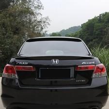 Спойлер Honda Accord 2008-2013 lip чёрный