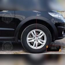 Расширители колесных арок (вынос 15 мм) Hyundai Santa Fe II 2005-2010
