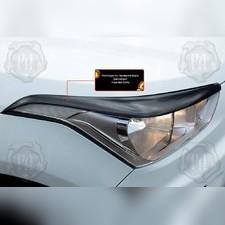 Накладки на передние фары (реснички) Hyundai Creta I 2020-н.в.