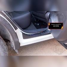 Накладки на внутренние пороги дверей Nissan Qashqai 2014-2016