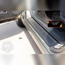 Накладки на внутренние пороги дверей Honda Civic седан 2005-2008