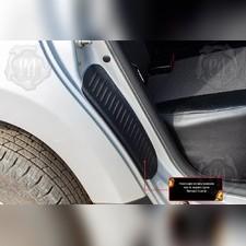 Накладки на внутренние части задних арок со скотчем 3М Renault Duster 2010-2014 (I поколение)