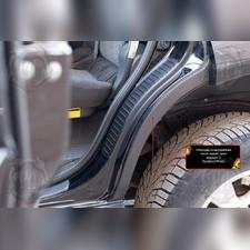 Накладки на внутренние части задних арок без скотча (вариант 2) Toyota LC Prado 120 2003-2009