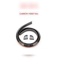 Козырек универсальный lip сабля (Carbon) 148х3,5 см