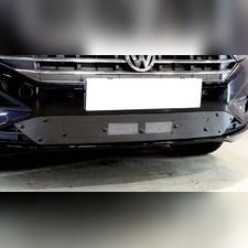 Защита радиатора с вентиляционной шторкой Volkswagen Jetta 2020-н.в. стандартная зимний пакет