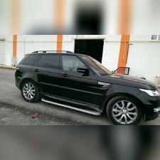 Рейлинги Rang Rover Sport 2013-2021 (черные)