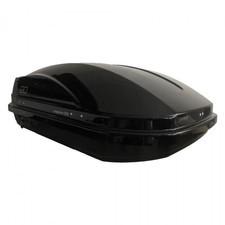 Автобокс Magnum 300 черный металлик (двустороннее открытие 1250 Х 780 Х 420 мм) 300 л