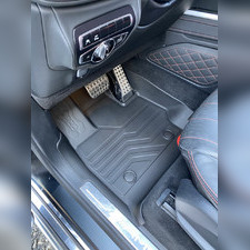 """Ковры салона Mercedes-Benz G Класс W464 2017 - нв """"3D Lux"""", аналог ковров WeatherTech (США)"""