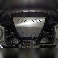 Защита картера и КПП (алюминий) 4мм для Chery Tiggo 8 pro 2021