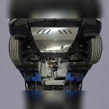 Защиты комплект (алюминий) 4мм (картер, кпп, бак) для Chery Tiggo 8 pro 2021