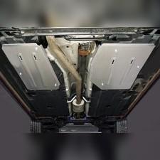 Защита бака и адсорбера (алюминий) 4мм для Geely Tugella 2020-