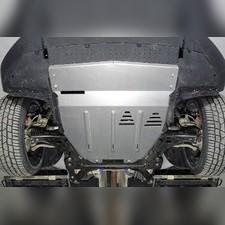 Защиты комплект (алюминий) 4 мм (картер и кпп, бака и адсорбера) для Geely Tugella 2020-н.в.