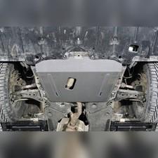 Защита картера и КПП (алюминий) 4мм для Toyota Highlander 2020-н.в.