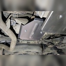Защита заднего редуктора (алюминий) 4мм для Toyota Highlander 2020-н.в.