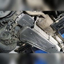 Защита бака (алюминий) 4мм для Toyota Highlander 2020-н.в.
