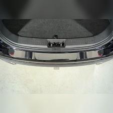 Накладки на задний бампер (лист зеркальный) для Chery Tiggo 8 pro 2021
