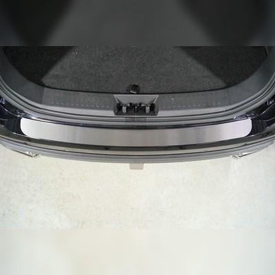 Накладки на задний бампер (лист шлифованный) для Chery Tiggo 8 pro 2021-н.в.