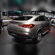 Брызговики Mercedes-Benz GLE Coupe (OEM) для автомобиля с порогами