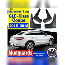 Брызговики Mercedes-Benz GLE Coupe C292 2015 - 2018 для автомобиля без порогов (OEM)