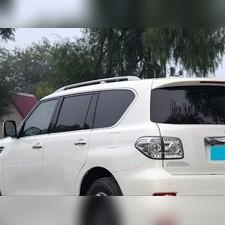 Рейлинги Nissan Patrol 2010-2020 (OE-Style) Серебристые