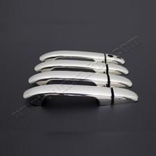 Накладки на дверные ручки Mercedes V-Class,Vito W447, 4 двери (с отверстием под сенсор) Нержавейка