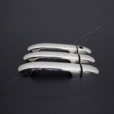Накладки на дверные ручки Mercedes V-Class,Vito W447, 3 двери (без отверстием под сенсор) Нержавейка
