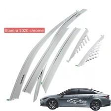 Дефлекторы, ветровики окон Hyundai Elantra 2020 - нв комплект из 6-ти частей Platinum
