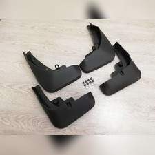 Брызговики передние и задние для Audi Q7 2020 для обычной комплектации (копия оригинала)
