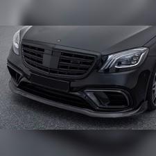 Решетка AMG Mercedes S-klass (W 222) черный мат