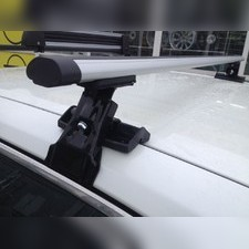 """Багажник на крышу с прямоугольными поперечинами Isuzu Trooper 1993 - 1998, модель """"Аэро"""""""