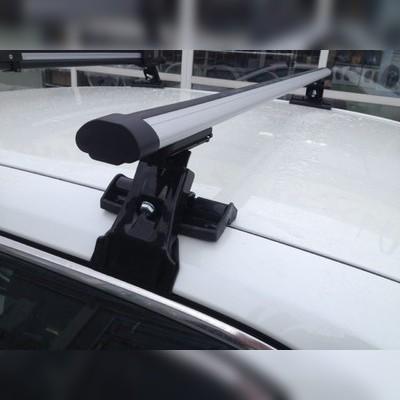 """Багажник на крышу с прямоугольными поперечинами Rover 75 2000 - 2003 Седан, модель """"Аэро"""""""