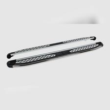 """Пороги, подножки, ступени NISSAN NAVARA 2014-н.в., модель """"Zirkon"""""""