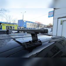 Багажник на крышу с прямоугольными поперечинами Renault Grand Scenic 2009-нв (в штатные места)
