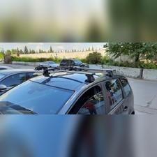 Багажник на крышу с аэродинамическими поперечинами Renault Grand Scenic 2009-нв Аэро в штатные места