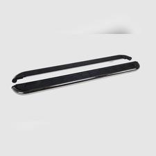 "Пороги, подножки, ступени TOYOTA HILUX 2004-2015, модель ""Ring"""
