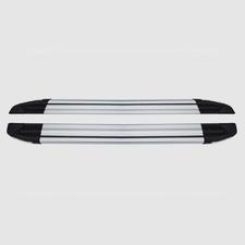 """Пороги, подножки, ступени NISSAN NAVARA 2014-н.в., модель """"Brilliant Silver"""""""
