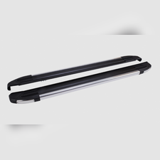 """Пороги, подножки, ступени RANGE ROVER EVOQUE 2011-2018, модель """"Brilliant Black"""""""