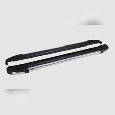 "Пороги, подножки, ступени TOYOTA HILUX 2004-2015, модель ""Brilliant Black"""