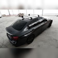 "Багажник аэродинамический на крышу Suzuki Grand Vitara 2014-нв, ""Air 3 SILVER"""