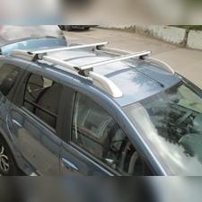 """Аэродинамические поперечины на рейлинги Toyota Sienna 2005-2010 Минивен """"Favorit Крыло"""""""