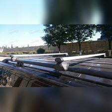 """Аэродинамические поперечины на рейлинги Cadillac SRX 2004-2009 Кроссовер """"Favorit Аэро"""""""